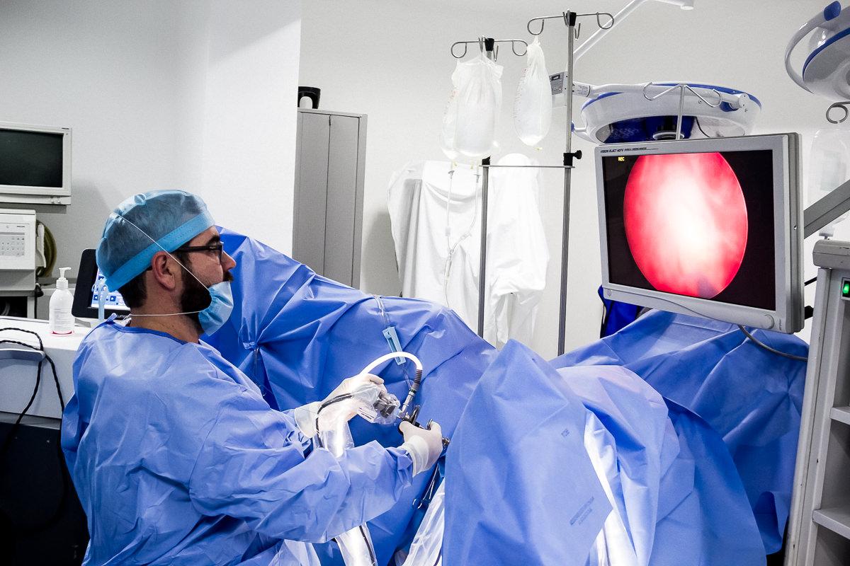 cirugía láser de próstata holep